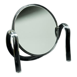 Dorothy Thorpe Lucite Tabletop Make-Up Mirror