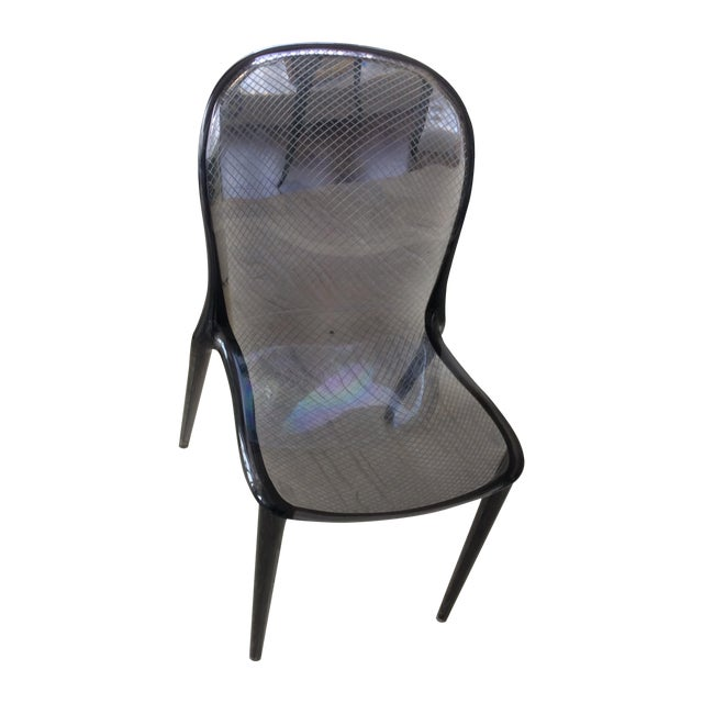 Grey Kartell Thalya Dining Chairs - Set of 5 - Image 8 of 8