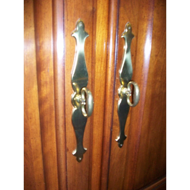 Thomasville Collectors Cherry Armoire - Image 9 of 11