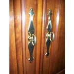 Image of Thomasville Collectors Cherry Armoire