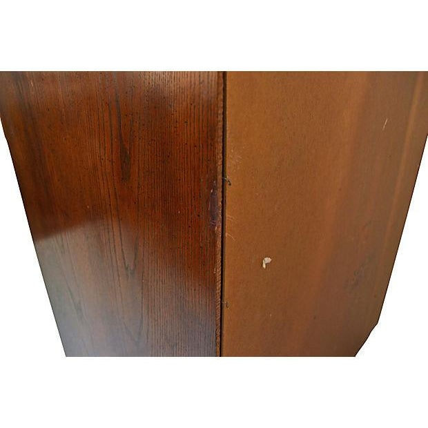 Campaign-Style Highboy Dresser by Dixie - Image 7 of 7