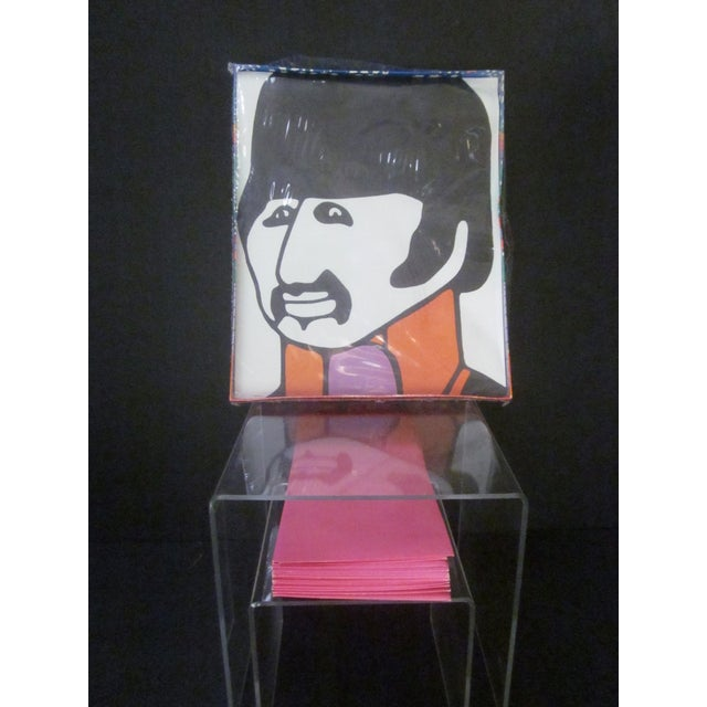 Image of Peter Max 1960's Beatles Ring Starr Stationery Set