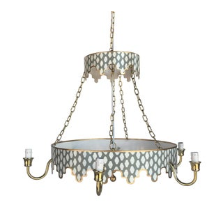 Gray Parsi Chandelier