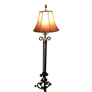 Wrought Iron Floor Lamp
