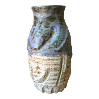 Rustic Hand Thrown Pottery Vase