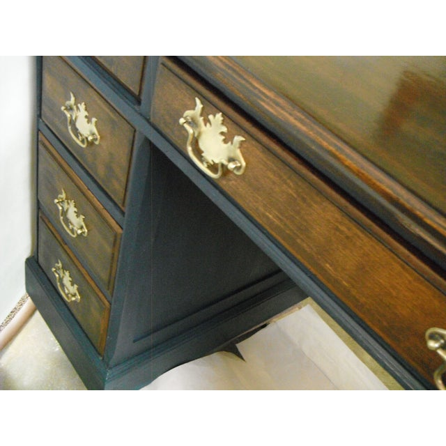 Antique Painted Federal Style Desk - Image 7 of 11