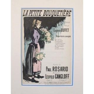 1900s French Song Sheet, Eugenie Buffet - Steinlen