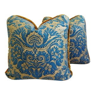 Italian Mariano Fortuny Demedici Pillows - A Pair