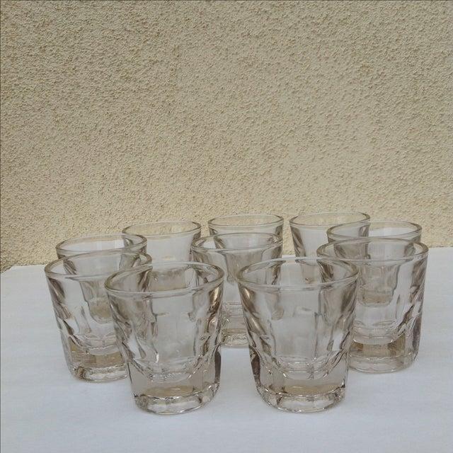 Vintage Rocks Glasses - Set of 10 - Image 10 of 11