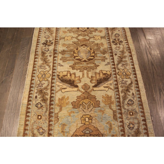 "Persian Sultanabad Rug - 3'2"" x 13'9"" - Image 9 of 10"