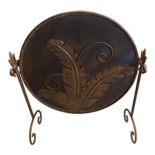 Vintage Bronze Fireplace Cover/Screen