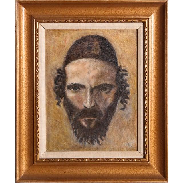 S. Saltzman Painting - Jewish Man - Image 1 of 2