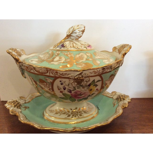 Large Antique Dessert Service- circa 1830's - Image 2 of 5