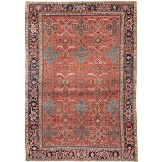 "Apadana Antique Persian Karajah Rug - 7'7"" x 10'9"""