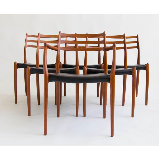 Niels Møller #78 Dining Chairs - Set of 6 - Image 2 of 11