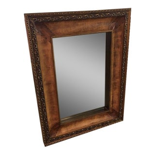 Leather Frame Wall Mirror