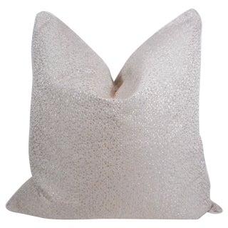 Platinum Grey Spots & Dots Pillow