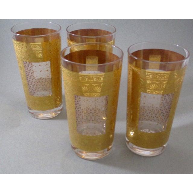Image of Pasinski Mid-Century Gilded Tumblers - Set of 4