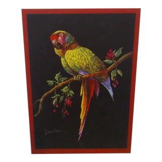 "Vintage Print of J. Halford Ross ""Disdain"" Painting"