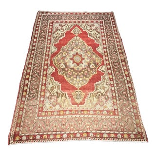 """Bellwether Rugs Distressed Look Rare Antique Tabriz Rug - 3'8"""" x 6'2"""""""