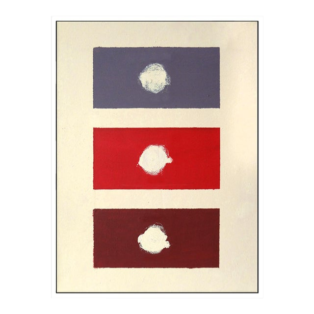 """""""Red Domino"""" Fine Art Giclée Print - Image 1 of 3"""