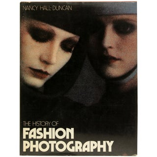 Vintage 'The History of Fashion Photography' Book