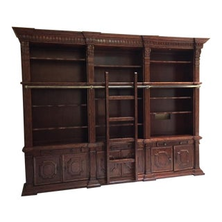 Lighted Library Wall Unit