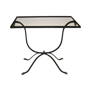 Art Deco Wrought Iron Table