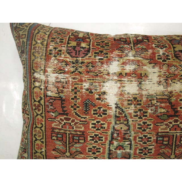 Distressed Persian Rug Pillow - Image 5 of 5