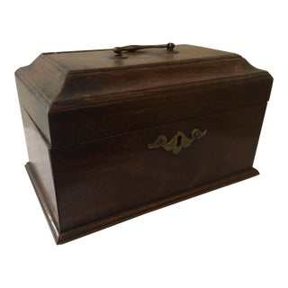 18th C. Chippendale Tea Caddy