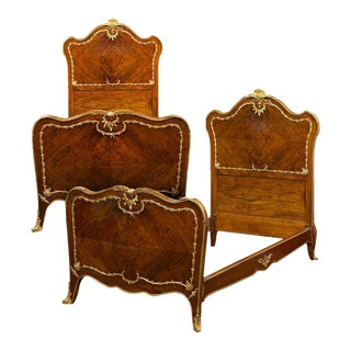 Rococo Style Twin Beds - A Pair
