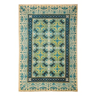 """Suzani Hand Knotted Area Rug - 6'1"""" X 8'10"""""""