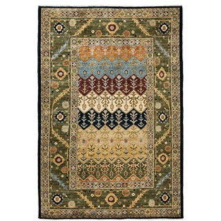 "Ziegler, Hand Knotted Area Rug - 6' 0"" x 9' 0"""