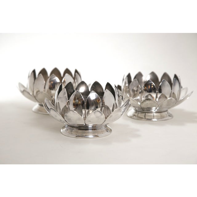 Image of Reed & Barton Silver Flower Holders - Set of 3