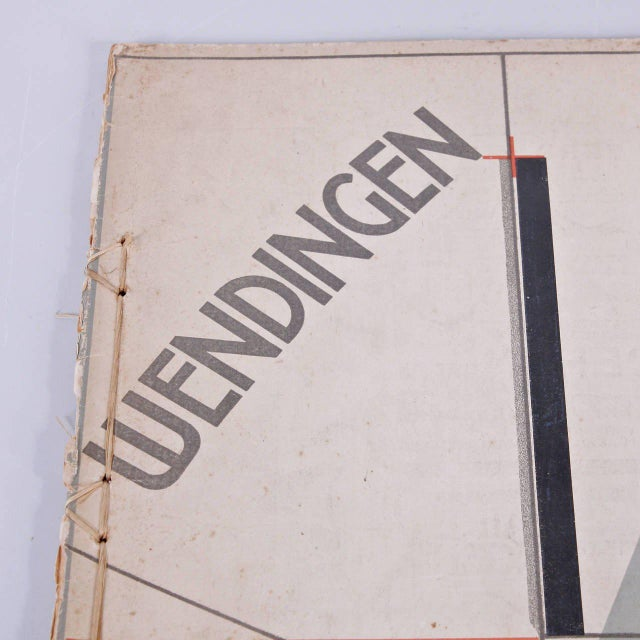 Wendingen, Issue 11, Cover by El Lissitzky, 1921 - Image 6 of 10