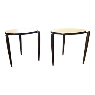 Mid-Century Stacking Side Tables - a Pair
