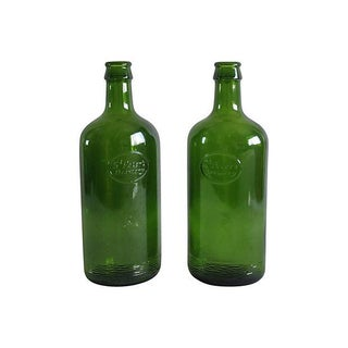 Antique Brewery Bottles - A Pair