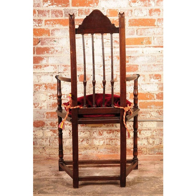 19th Century Reinassance Side Chairs - A Pair - Image 8 of 11