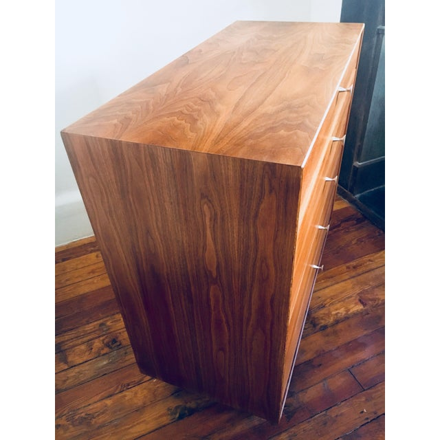 George Nelson for Herman Miller Walnut Thin Edge Dresser - Image 3 of 9