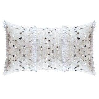 White Berber Wedding Pillow
