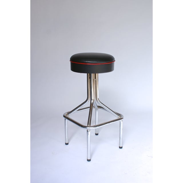 Tubular Steel Bar Stools - Set of 5 - Image 5 of 6