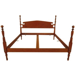 Eldred Wheeler King Cannonball Bed