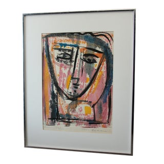 Abstract Frits Van Eeden Signed & Numbered Silkscreen