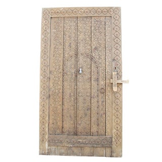 Antique Moroccan Carved Door
