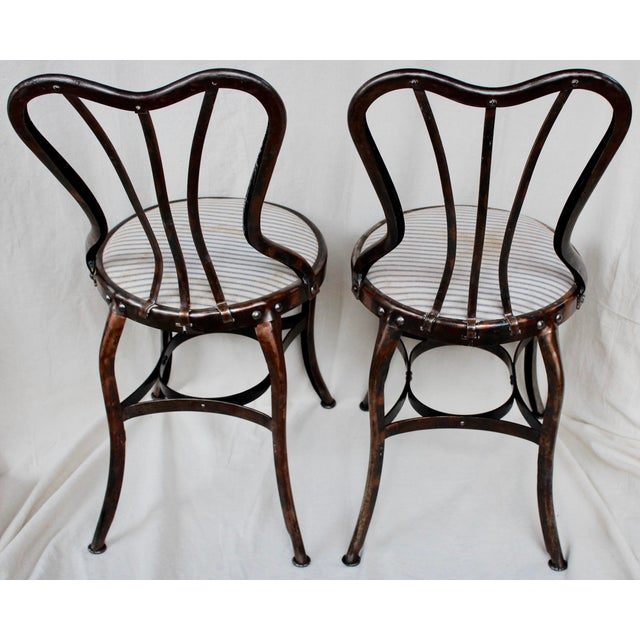 Vintage Toledo Industrial Chairs - A Pair - Image 4 of 8