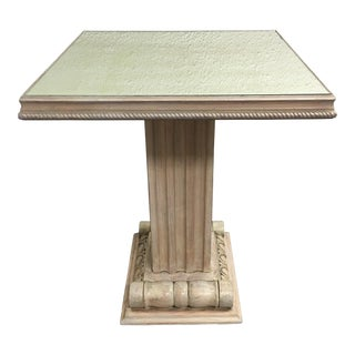 Grosfeld House Mirrored Top Side Table