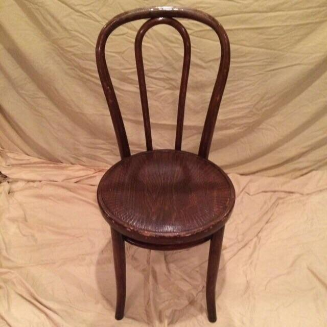 Vintage Thonet Bentwood Cafe Chair - Image 2 of 8