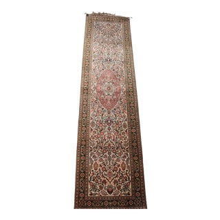 """Indo-Persian Tabriz Floral Runner - 10' X 2'7"""""""