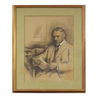 Original Drawing of Louis Sullivan