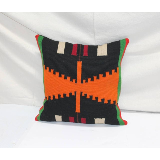Image of Group of Three Rare Germantown Indian Weaving Pillows